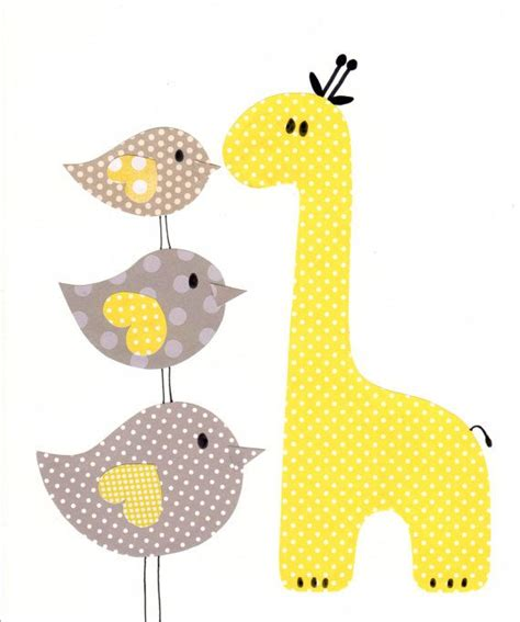 yellow and grey yellow and grey nursery artwork print baby room