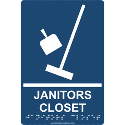 artistic janitor closet sign roselawnlutheran
