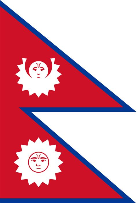 flags of the world nepal file flag of nepal 19th century 1962 svg wikipedia