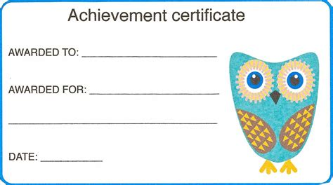 templates for children certificate template for new calendar template site