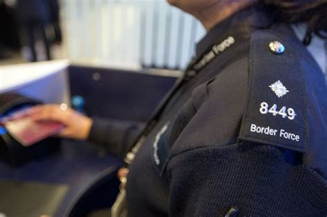 Background Check For Passport Passengers Enter Britain Without Passport Checks At Manchester Airport Watchdogs Find
