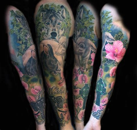 animal tattoo that represents family the nature of family by wes brown tattoonow