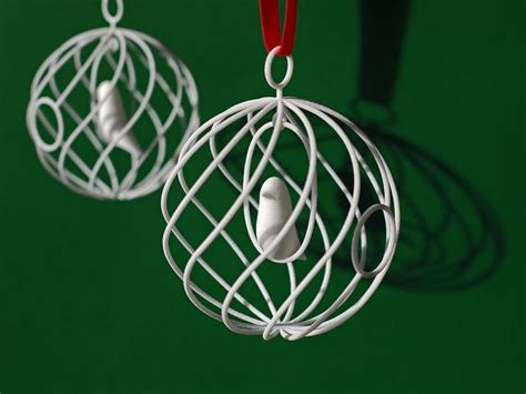 3d printed christmas ornaments 3d printing pinterest