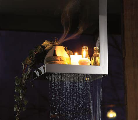 soffioni doccia a cascata soffione cascata bougies h 40