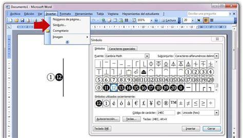 Como Insertar Imagenes Y Simbolos En Word | como insertar caracteres unicode en documentos y paginas web