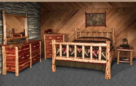 cedar bedroom suite wildwoodrustics bedroom