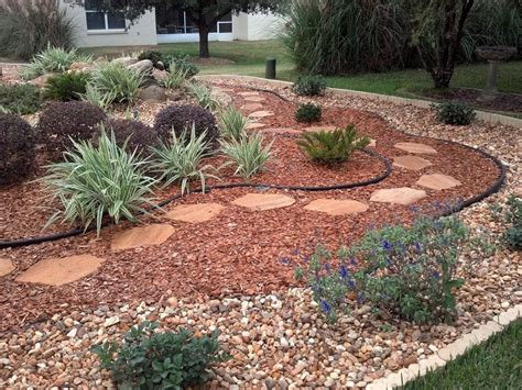 Backyard Ideas Without Grass Best 25 Rock Yard Ideas On Landscape Near Me Garden Ideas With Stones And