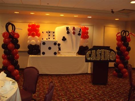 homemade themes by james casino party decoration ivel s creations pachanga