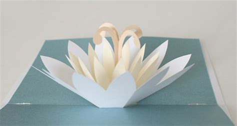 Lotus Flower Pop Up Card Template Free by Planetjune By June Gilbank 187 Lotus Card