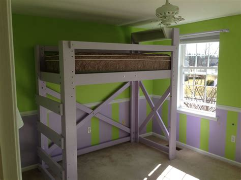 Bed Frame Stilts Customer Photo 117 Op Loftbed