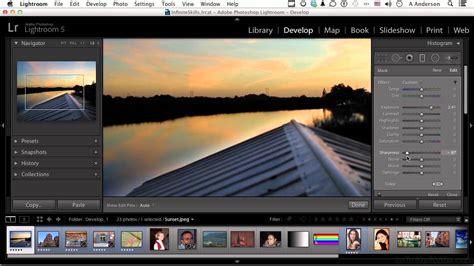 tutorial italiano lightroom 5 adobe lightroom 5 tutorial using the graduated filter