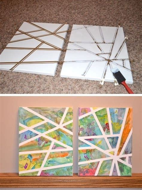 canvas craft projects 25 best ideas about canvas on canvas
