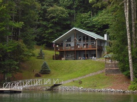 Vrbo Cabin Rentals by Large Lakefront Cabin With Dock Vrbo
