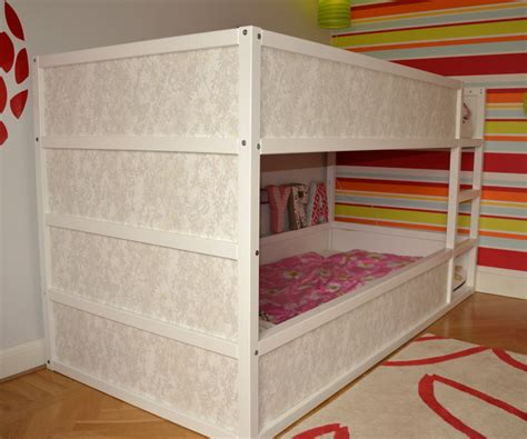girly beds ikea hackers girly kura bunk bed explains how to make