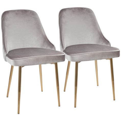 velvet dining chairs australia lumisource gold and silver marcel velvet dining chair set