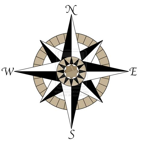 printable nautical star picture of compass rose clipart best