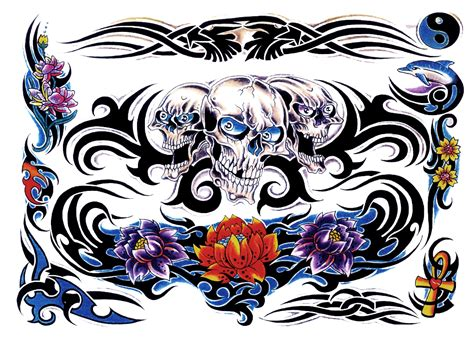 tattoo design color keren png color tattoo png hd stickers png