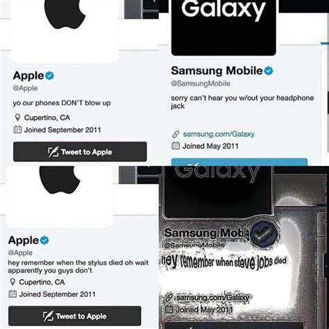 apple vs samsung memes