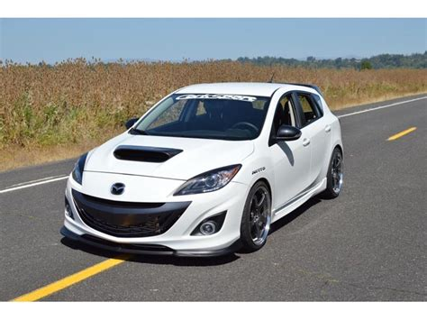 mazda 3 speed 2010 2013 mazdaspeed 3 front lip