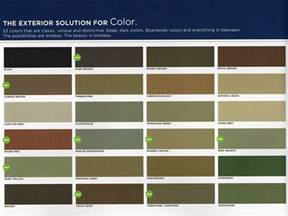 vinyl siding color chart mastic vinyl siding color chart