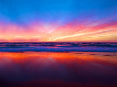 wallpapers beach colorful sunset hd wallpapers desktop pictures one hd wallpaper