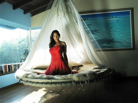 Circle Hammock Bed floating beds huntto