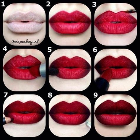 lip tutorial instagram the guide to making instagram makeup trends wearable