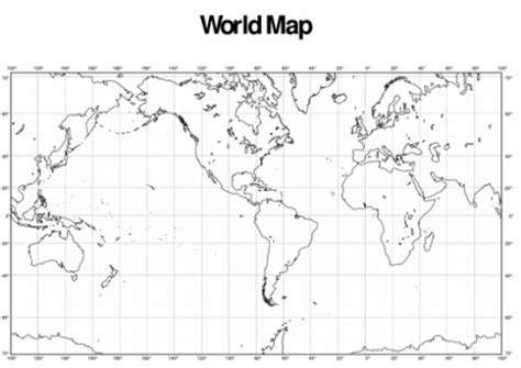 printable world map with lat and long counting number worksheets 187 time and longitude worksheets