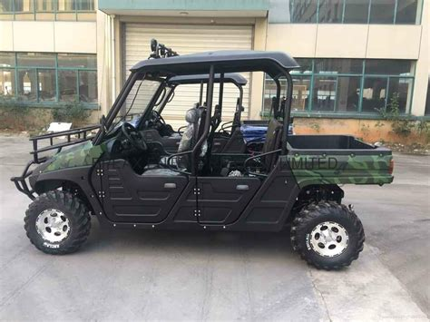 electric 4x4 vehicle new 7 5kw 4x4 electric utv with eec ep75dautv china