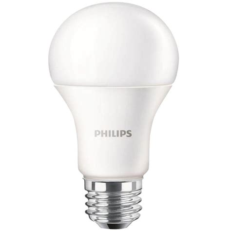led a19 light bulbs philips 100w equivalent daylight a19 led light bulb 455717