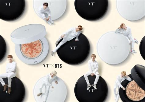 bts vt cosmetics bts collaborates with vt cosmetic to launch a collagen