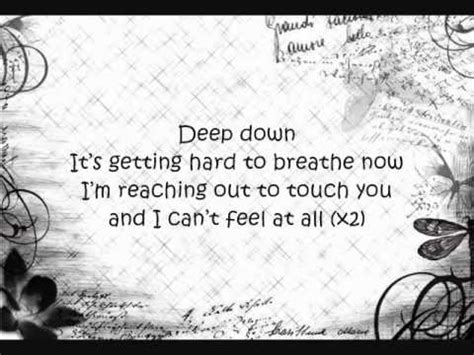 claymore saosin deep down deep down by saosin w lyrics youtube