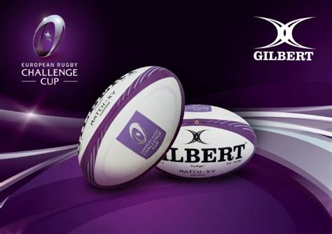 european challenge cup gilbert supply match balls to the majority of the world s