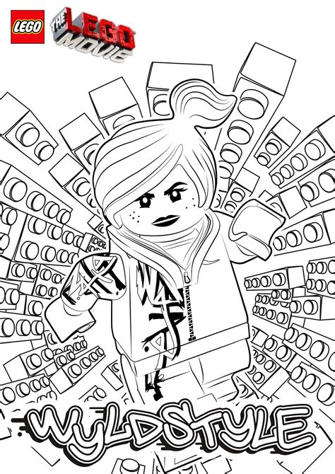 coloring pages the lego movie the lego movie coloring pages lego minifigures lego