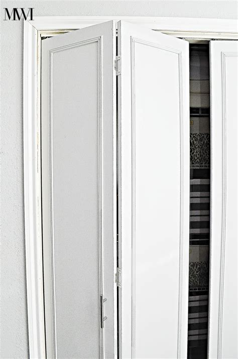 How To Make Bifold Closet Doors How To Update 1970 S Bi Fold Closet Doors Wants It