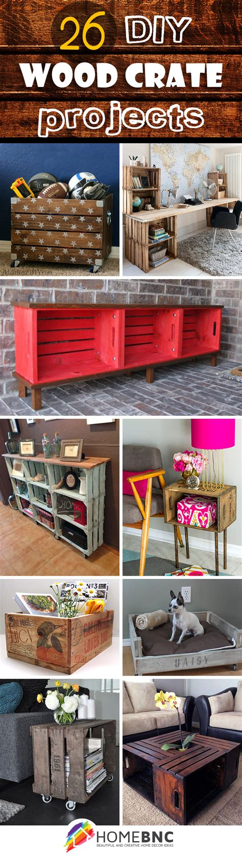 diy wood projects for 26 best diy wood crate projects and ideas for 2018