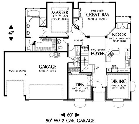 floor plans blueprints main floor house blueprint house plans pinterest