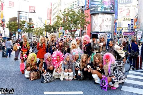 Kemeja Black Squad Japan style gyaru photos page 5