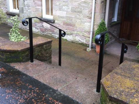 Handrails For Steps Outdoors handrails for stairs northern ireland bam fabrications