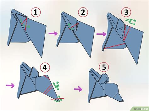 How To Make An Origami Wolf Step By Step - einen origami wolf machen wikihow