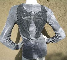 New Fossil Wings Leather Grey remetee geisha sun skull foil s sleeve thermal