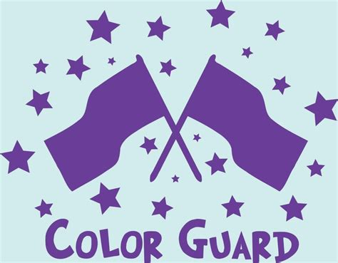 what is the color guard 23 best images about clip on band