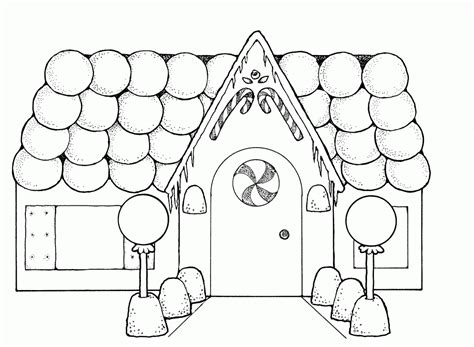 gingerbread house coloring page free printable house coloring pages for kids