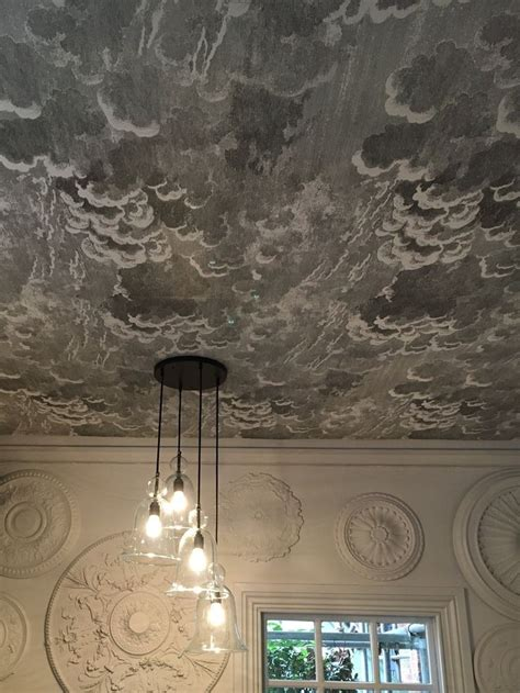 pinterest wallpaper ceiling cole son cloud wallpaper fornasetti ii nuvolette