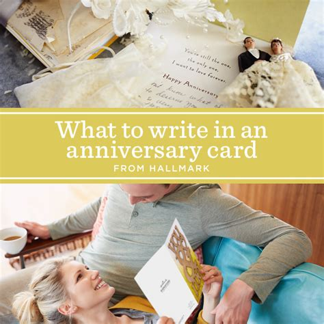 What To Write In An Anniversary Card To