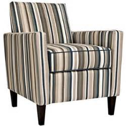 a striped armchair angelo home sutton vintage blue striped armchair