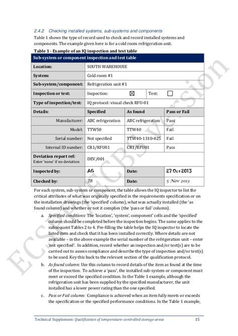 supplement 9 maintenance of refrigeration equipment hdbs7 phụ lục 9 gmp who thẩm định kho bảo quản c 243 kiểm