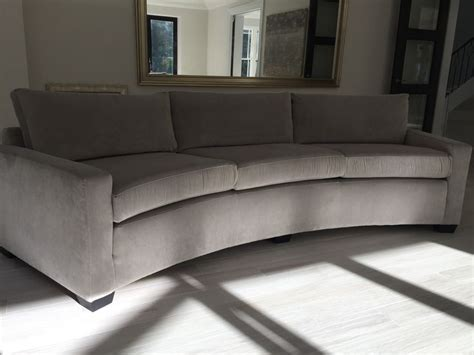 traditional curved sofa 1000 images about curved sofas british bespoke on