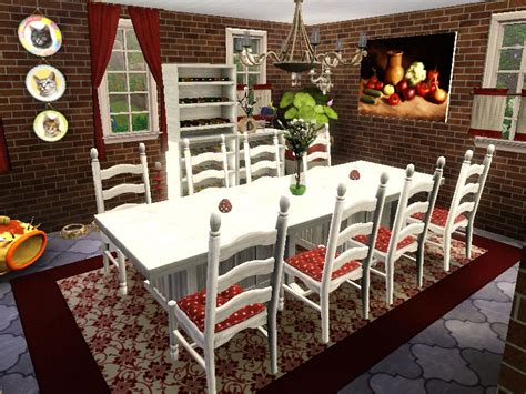 sims 3 esszimmer sims 3 residential lotta restored farm gulfhaus