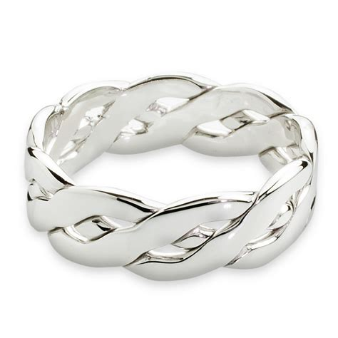 celtic ring mens white gold celtic knot ring this celtic